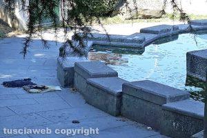 Viterbo - La fontana al parco del Murialdo