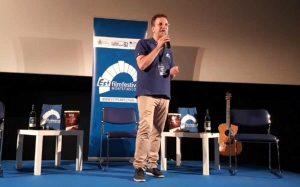 Montefiascone - Vaniel Maestosi sul palco dell'Est film festival