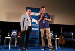 Montefiascone - Maestosi e Paolini sul palco dell'Est film festival