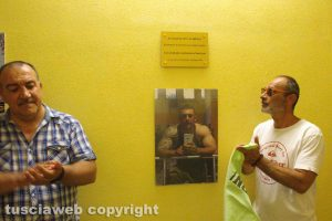 Vitorchiano - Sala pesi intitolata a Luca Scarponi
