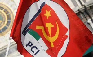 La bandiera del Pci