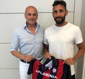 Sport - Calcio - Flaminia - Gigi Coni con Michele Boldrini