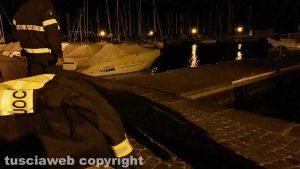 Capodimonte - Ancora dispersi nel lago - Intervento di Vigili del Fuoco e carabinieri