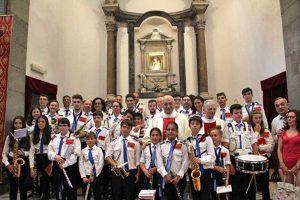Viterbo - La riapertura al culto della chiesa di Santa Maria dell'Edera