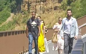Selena Gomez a Civita di Bagnoregio