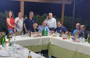 Sardegna in Tuscia, Antonio Manca confermato presidente - Ospite a cena il prefetto Giovanni Bruno