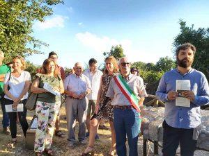 Vetralla - Sistemata l'area sorgiva di Fossato Callo