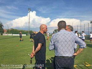 Canepina - Gli allenamenti della Viterbese - Antonio Calabro