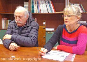 Francesco Lombardi e Paola Celletti