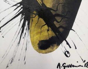 Un'opera di Alberto Giovanninini