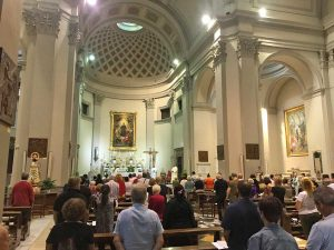Viterbo - La novena alla basilica di Santa Rosa