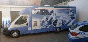 Il camper della polizia stradale