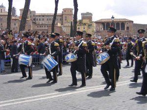 La banda musicale della Marina militare