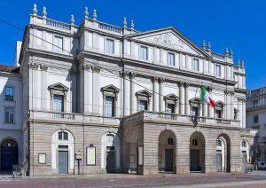 Milano - Il teatro alla Scala