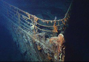 Il relitto del Titanic