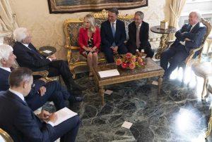 Roma - Il gruppo per le Autonomie al Quirinale