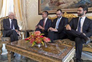 Roma - Il M5s alle consultazioni col presidente della Repubblica