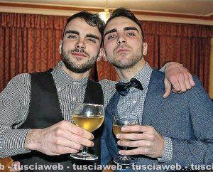 Valerio Felici con il fratello Riccardo