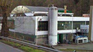 Capranica - L'ex stabilimento della Mineralneri