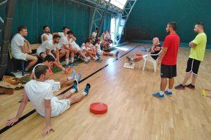 Sport - Calcio a cinque - Active networt - L'allenamento al PalaCus