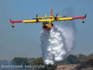 Canadair dei vigili del fuoco