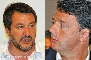 Matteo (Salvini) contro Matteo (Renzi)