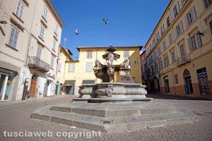 Viterbo - La fontana di piazza delle Erbe