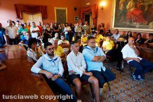 Ronciglione - La presentazione delle corse a vuoto dei cavalli 2019
