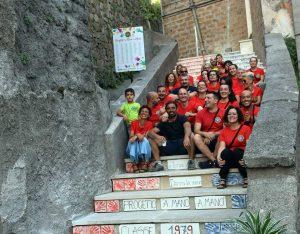 Vignanello - Inaugurata la scalinata in via San Rocco