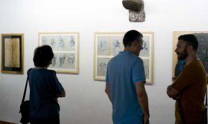 Viterbo - La mostra Frammenti scenografici - i volti per il Casanova di Federico Fellini
