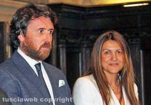 Viterbo - Gli assessori Marco De Carolis e Alessia Mancini