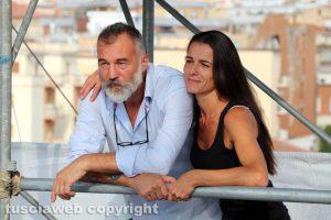 Raffaele Ascenzi e la moglie Valeria