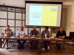 Siena - Presentazione della World Francigena ultramarathon