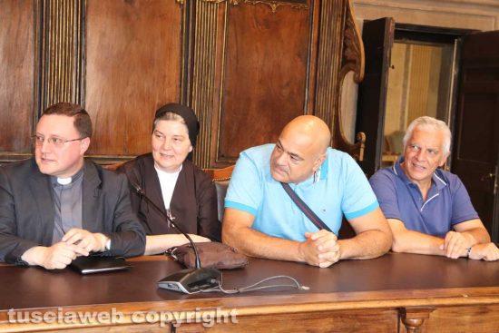 Don Luigi, suor Francesca, Rossi e Mecarini