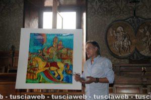 Vetralla - Angelo Russo presenta la sua opera