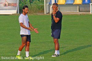 Sport - Calcio - Viterbese - Andrea De Falco a colloquio con Giovanni Lopez