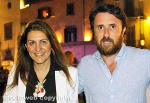 Viterbo - Gli assessori Alessia Mancini e Marco De Carolis