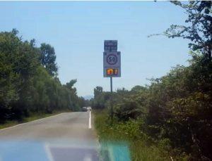 Litoranea - Limite di velocità
