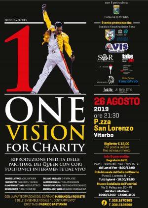 One man One vision a piazza san Lorenzo