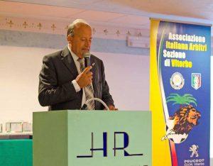 Luigi Gasbarri, presidente dell'Aia di Viterbo