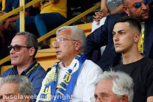 Sport - Calcio - Viterbese - Il presidente Marco Romano
