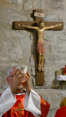Viterbo - La novena nella casa di santa Rosa - Don Massimiliano Balsi