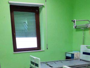 Montefiascone - Riparata la finestra al reparto Riabilitazione dell'ospedale