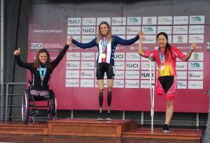 Sport - Paraciclismo - Ana Vitelaru argento alla Coppa del mondo