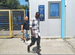 Sport - Calcio - Mamadou Tounkara allo stadio Rocchi