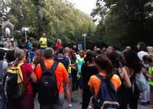 Viterbo - La 'Camminata sotto le stelle' promossa dalla Asd Viterbo runnersViterbo - La 'Camminata sotto le stelle' promossa dalla Asd Viterbo runners
