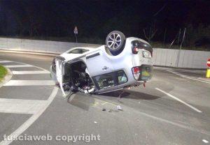 Capodimonte – Scontro tra due auto, cinque feriti