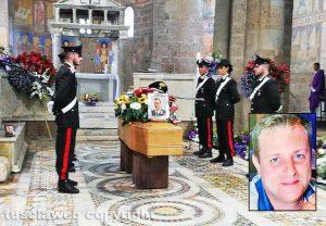 Castel Sant'Elia - I funerali di Daniele Gatti