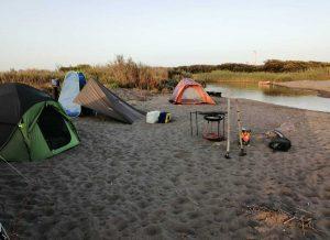 Rimosso accampamento abusivo sulla spiaggia di Pescia Romana