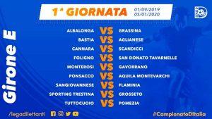 Sport - Calcio - Serie D - Il calendario della prima giornata